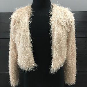 Forever 21 fancy formal dressy jacket cardigan S
